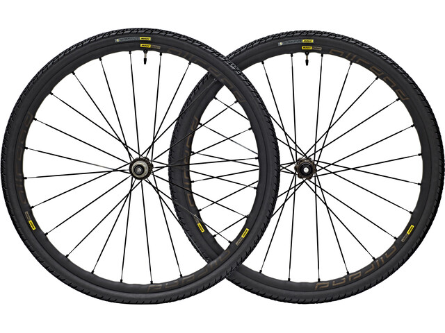 Mavic Allroad Elite Wheelset 700x40c Disc CenterLock 12x142mm black